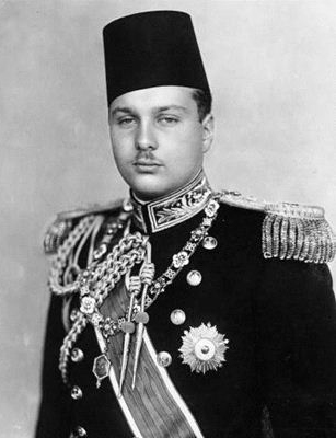 Egyptian King Farouk