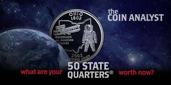 the coin analyst what are your 50 state quarters worth now?