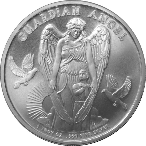 Niue 2017 Guardian Angel 1 Silver Coin