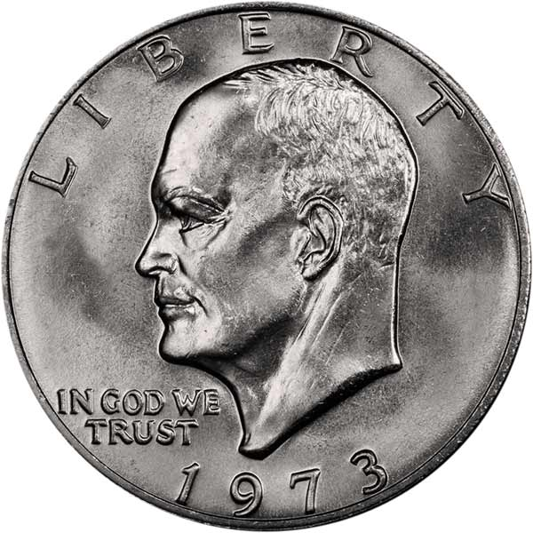 CoinWeek Coin Profiles United States 1973 (P) Eisenhower Dollar