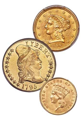 gold coins - U.S. coins