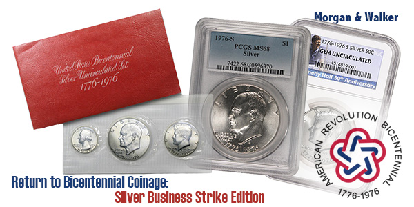 Return to Bicentennial Coinage: Silver Business Strike Edition