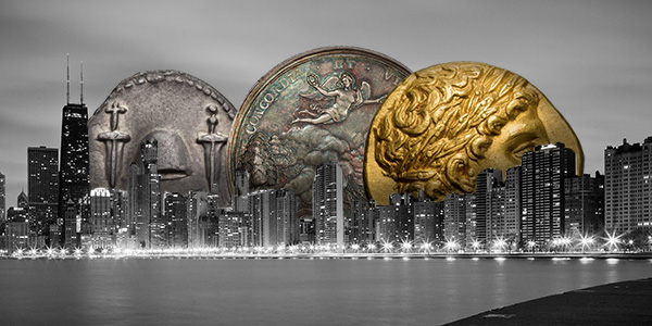 Chicago Coin Expo Graphic