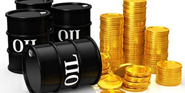 Crude Oil and Gold Prices