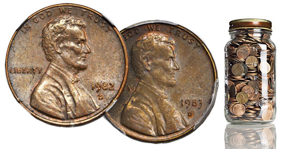 Stack's Bowers: 1982-83 Bronze Lincoln Cent Errors Featured