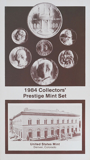 1984 Collectors' Prestige Mint Set