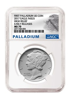 NGC Palladium American Eagle label