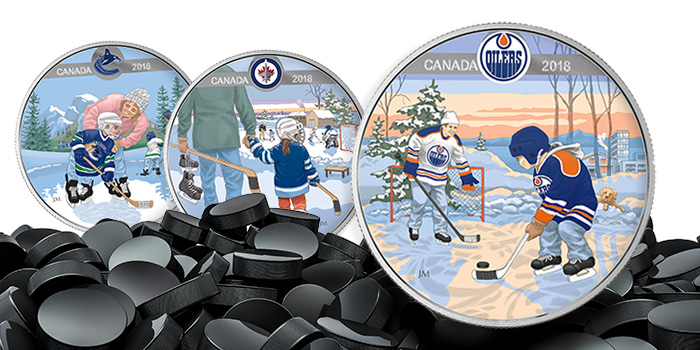 2018 Canada Learning to Play Silver coins - Royal Canadian Mint