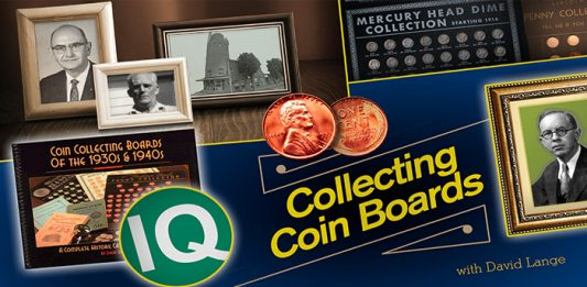 Coin Board News by David W. Lange