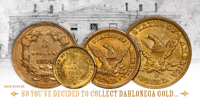 Dahlonega Gold Coins Doug Winter