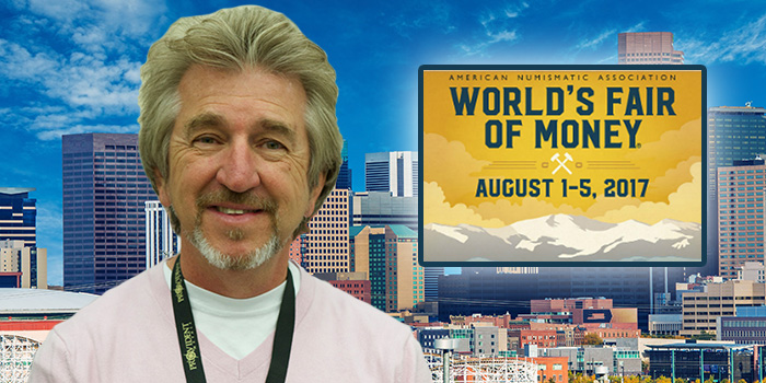 Jeff Garrett American Numismatic Association World's Fair of Money