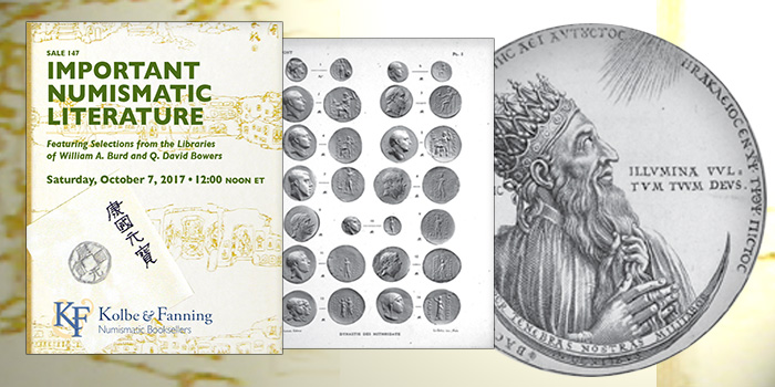 Kolbe & Fanning Important Numismatic Literature October 2017