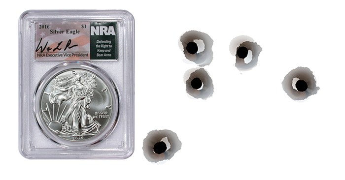 PCGS NRA 2nd Amendment Insert