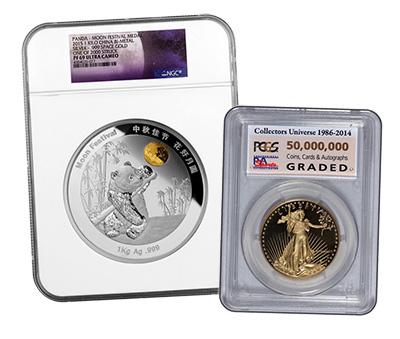 PCGS NGC Novelty Labels