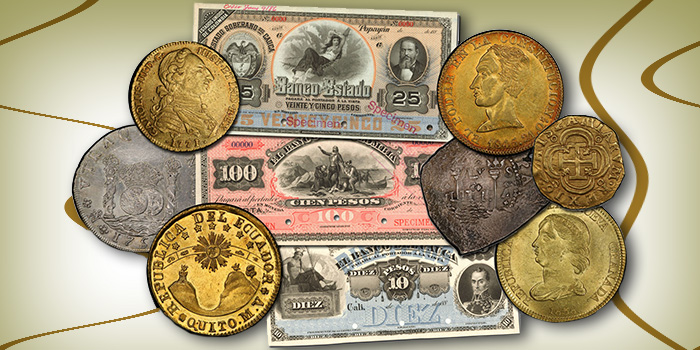 Stack's Bowers El Dorado Collection Coins Paper Money - World Coin Auction
