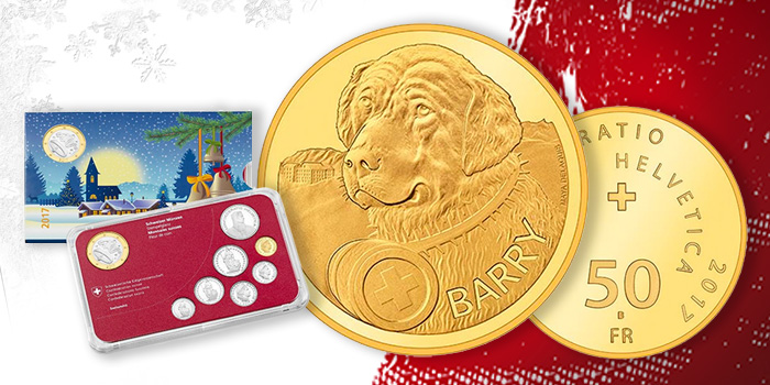 Swiss Mint Gold Coin Christmas Coin