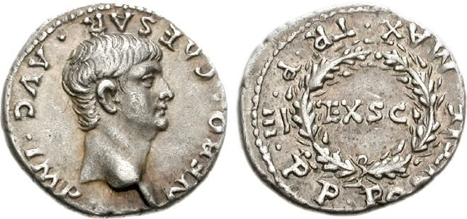 Young Emperor Nero. Images courtesy CNG, Nomos