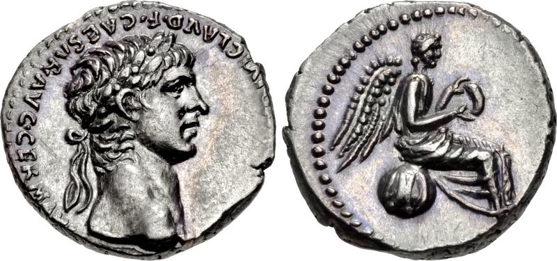 Silver hemidrachm of Nero. Images courtesy CNG, Nomos