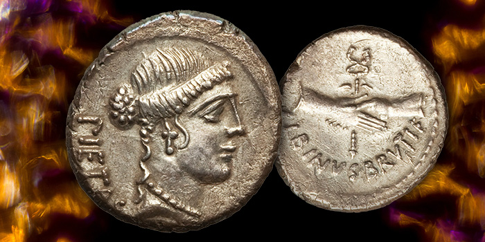 """Decimus Albinus: The """"Other Brutus"""" Who Stabbed Caesar - Heritage Auctions"""