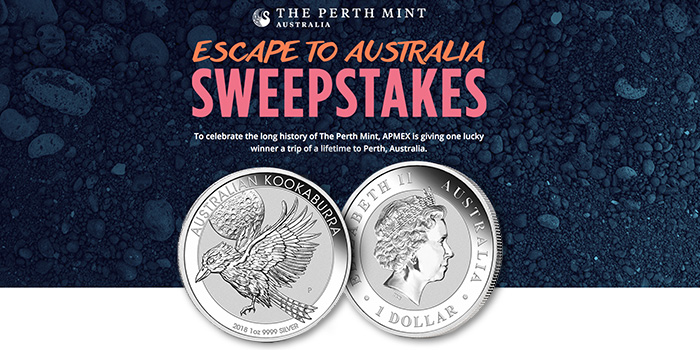APMEX Perth Mint Australia Sweepstakes
