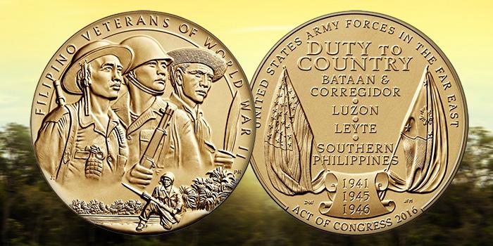 Filipino Veterans of World War II Congressional Gold Medal