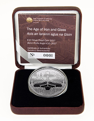 Age of Iron and Glass - Ha'Penny Bridge - Eurostar 10 Euro Ireland