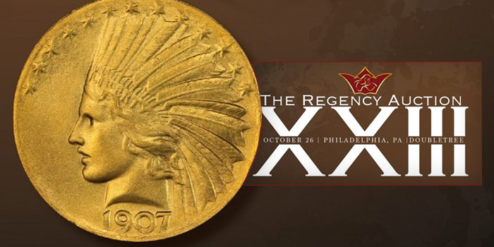 Legend Rare Coin Auctions - Regency Auction XXIII