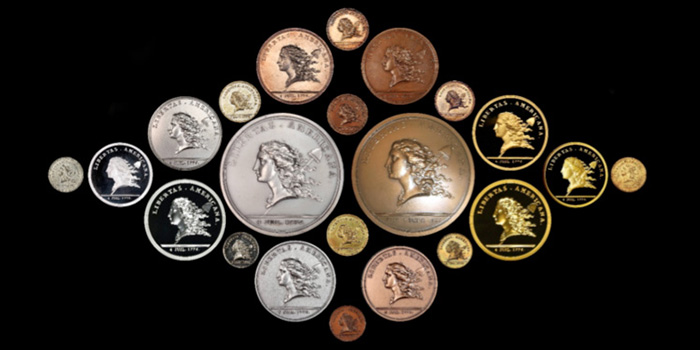 Libertas Americana Medal Stack's Bowers Cardinal Collection