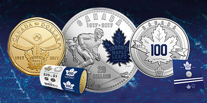 Toronto Maple Leafs 100th Anniversary Coins - Royal Canadian Mint