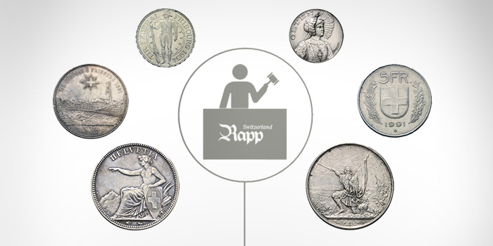 Rapp Auction Switzerland Coin Auction