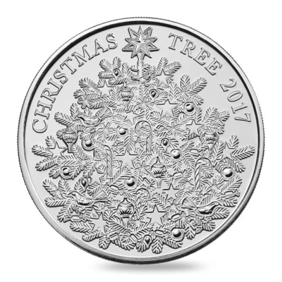 Royal Mint Christmas coin
