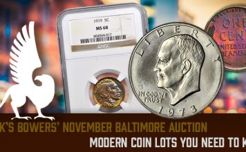 Stack's Bowers Galleries Auction November 2017 Whitman Baltimore