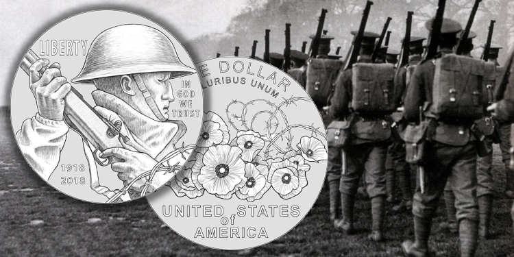 World War 1 Commemorative 2018 United States Mint