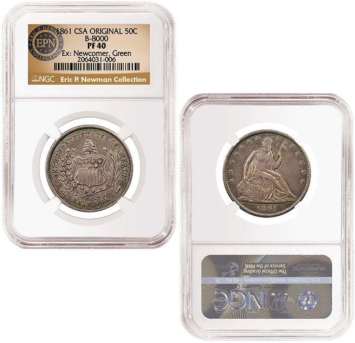 1861 Confederate Half Dollar