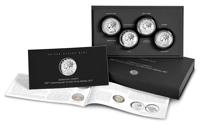 2017 United States Mint Silver Medals