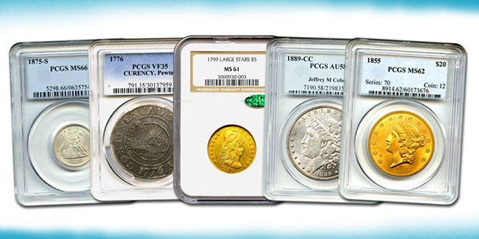 David Lawrence Rare Coins - DLRC Auction 990