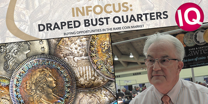 CoinWeek IQ: INFOCUS – Draped Bust Quarters – 4K Video