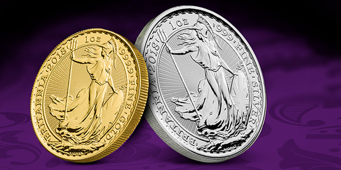 2018 Britannia gold and silver coins APMEX