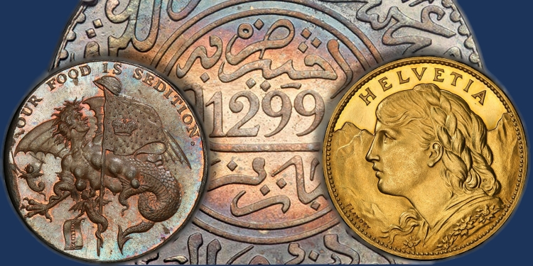 world coins and metal from Atlas Numismatics