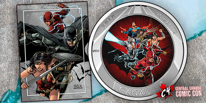 Royal Canadian Mint 25 Cent Comic Coin coin