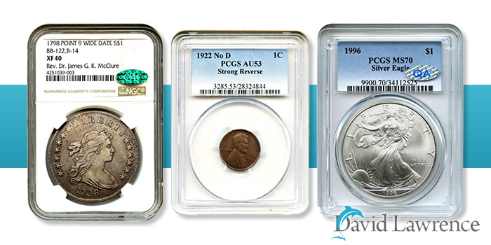 David Lawrence Rare Coins - Auction 987