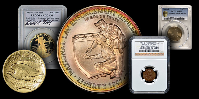 eBay Modern Coin Selections - November 6, 2017