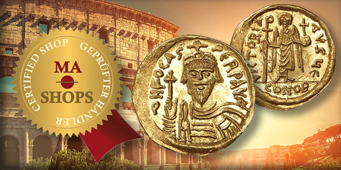 MA-Shops Gold Roman Solidus