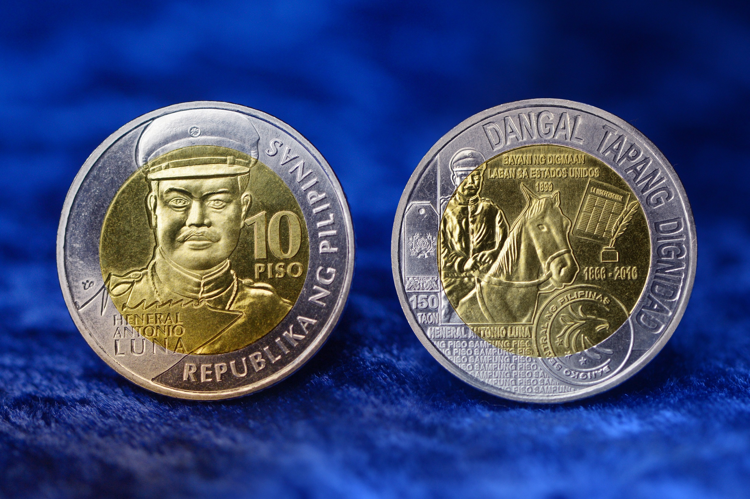 Philippines Issues 10 Peso General Luna