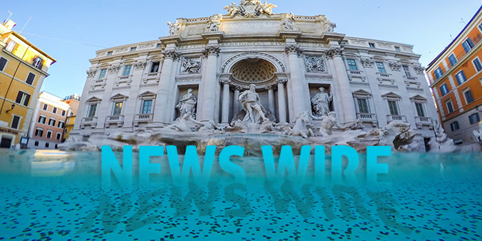 News Wire Trevi Fountain Coin News