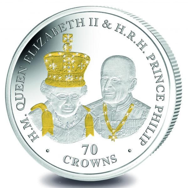 World Coins 70 Oz Proof Silver Celebrates Royal Couples