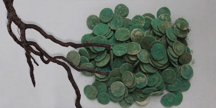 Mezdra, Bulgaria ancient roman coin hoard