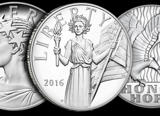 United States Mint American Liberty Silver Medals