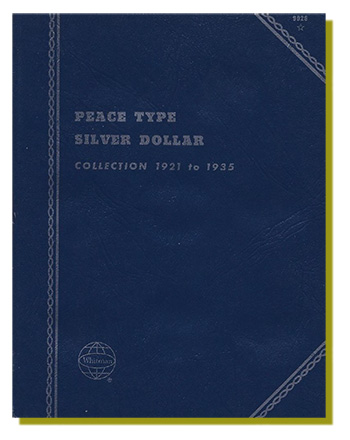 Peace Type Silver Dollar Album