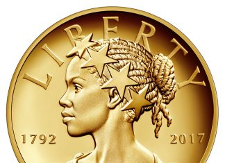 Obverse, United States 2017 American Liberty 225th Anniversary Proof Gold Coin. Image courtesy U.S. Mint